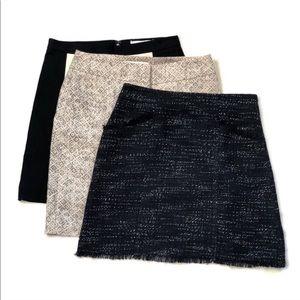Bundle of 3 Loft Ann Taylor Skirts